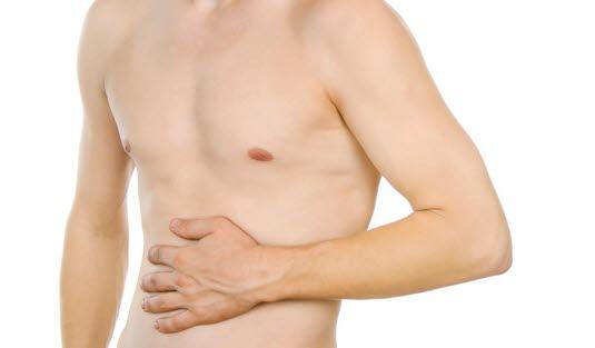 hvordan tenne mannen smerter nedre del av magen